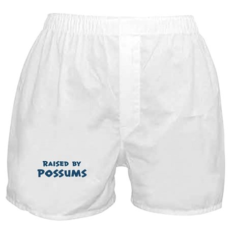 Raised by Possums Boxer Shorts