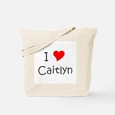 Unique Caitlyn Tote Bag