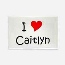 Cute Caitlyn Rectangle Magnet