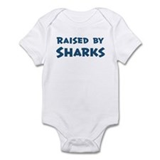 Raised by Sharks Infant Bodysuit