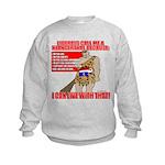 Proud Neanderthal Kids Sweatshirt