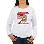Proud Neanderthal Women's Long Sleeve T-Shirt