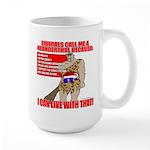 Proud Neanderthal Large Mug