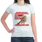 Proud Neanderthal Jr. Ringer T-Shirt