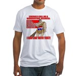 Proud Neanderthal Fitted T-Shirt