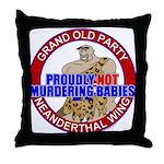 Anti-Abortion GOP Throw Pillow