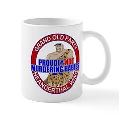 Anti-Abortion GOP Mug
