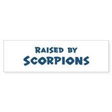 Raised by Scorpions Bumper Sticker (10 pk)