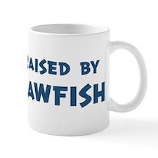 Raised by Sawfish Mug