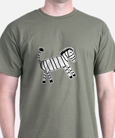 Quirky Zebra T-Shirt