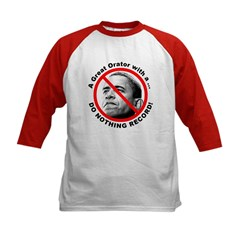 Anti Obama Do Nothing Record (Front) Tee