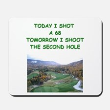 golf humor calendar Mousepad