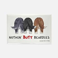 Nothin' Butt Beardies Rectangle Magnet (10 pack)