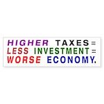 Econ Lesson bumper sticker