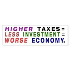 Econ Lesson bumper sticker