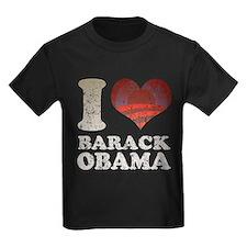 I heart/rising sun Barack Oba T