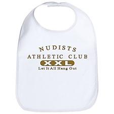 Nudist Athletic Club Bib