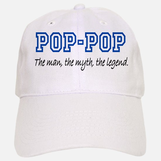 Pop-Pop Baseball Baseball Cap