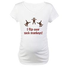 Flip Over Sock Monkeys Shirt