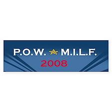 POW/MILF08 Bumper Bumper Sticker