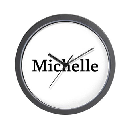 Michelle - Personalized Wall Clock