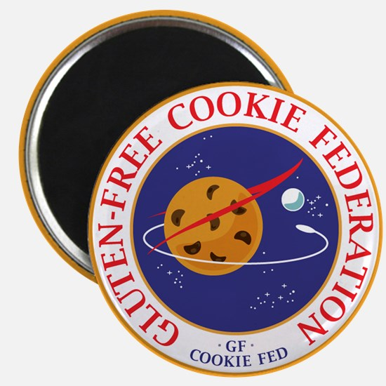 "GF CookieFed 2.25"" Round Magnet"