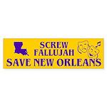 SAVE NEW ORLEANS Bumper Sticker