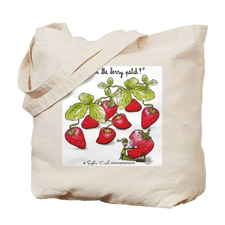 Strawberry Jam Tote by Sophie Turrel