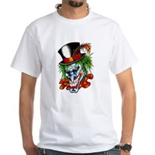 Mad Evil Clown Tattoo Shirt