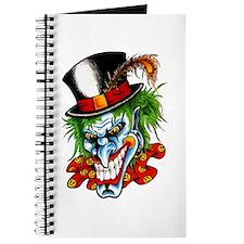 Mad Evil Clown Tattoo Journal