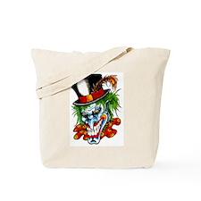Mad Evil Clown Tattoo Tote Bag
