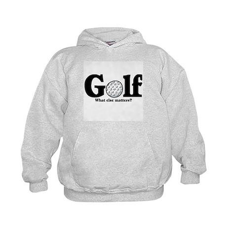 Golf, What else matters? Kids Hoodie