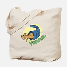 Tunnel Dog Agility Tote Bag