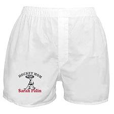 Hockey Mom For Palin Boxer Shorts