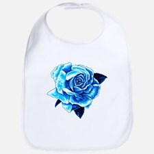Ice Blue Rose Bib