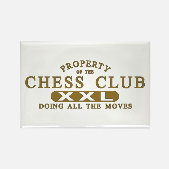 Chess Club Rectangle Magnet