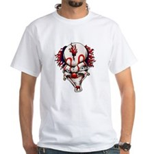 Mad Crazy Clown Tattoo (Front) Shirt