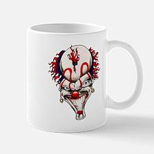 Mad Crazy Clown Tattoo Mug