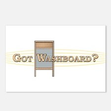 Got Washboard? Postcards (Package of 8)