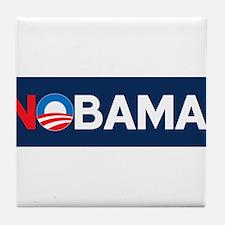 """NOBAMA!"" Tile Coaster"