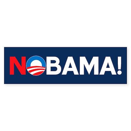 """NOBAMA!"" Bumper Sticker"