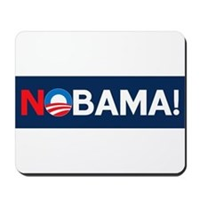 """NOBAMA!"" Mousepad"