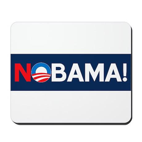 """""""NOBAMA!"""" Mousepad"""