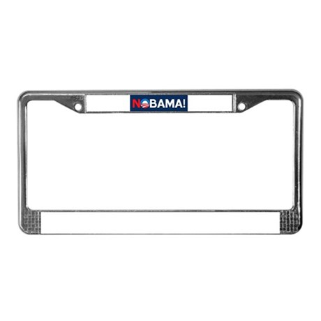 """NOBAMA!"" License Plate Frame"