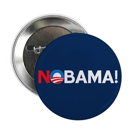 """NOBAMA!"" 2.25"" Button (10 pack)"
