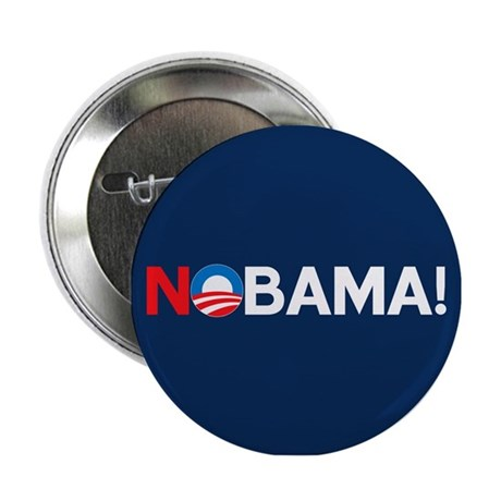 """NOBAMA!"" 2.25"" Button"