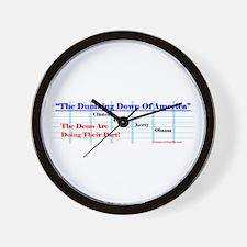"""""""Dumbing Down"""" Wall Clock"""