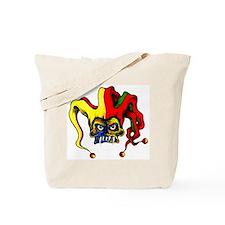 Evil Joker Clown Tattoo Tote Bag