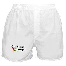Golfing Grandpa Boxer Shorts