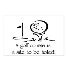 Golf Course Postcards (Package of 8)